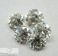 Uncertified Loose Diamonds RBC Sparkling Brilliants