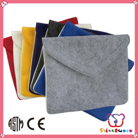 ISO 9001 Factory recycled polyester. felt tablet protective case