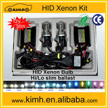 Top quality slim ballast 12V 35W jlm hid xenon kit