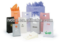 fancy gift packing plastic shopping bags wholesale