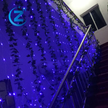 Waterproof china factory wholesale fairy fish running color changing addressable decorative led net decoration light for wedding