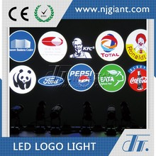 GLG-05 Custom Outdoor Static Function Led Logo Gobos Word Or Image Projector Lighter