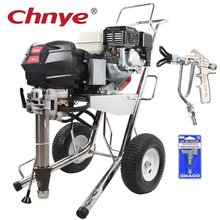 Electrostatic airless wall putty painting machine with spray gun