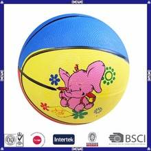 cheap kids soft rubber basketball
