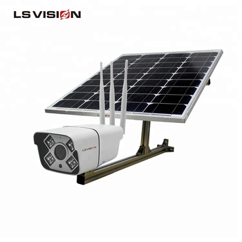 LSVISION Wireless 4MP H.265 Infrared Solar-Powered Battery Charger ITE Security Wifi Cellular Camera
