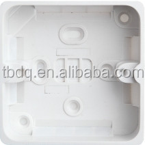 86*86 PVC switch boxes wall switch and socket junction box