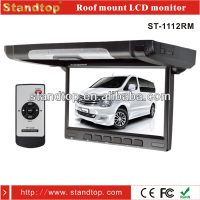 super slim 10.1 inch car/bus roof mounted led monitor