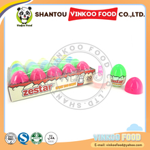 dinosaur egg shape soft sweet sour spray candy for sale