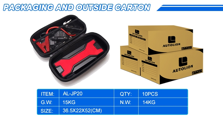 12v lithium car starter battery 20000MAH multi-function portable jump starter 20000mah& 12v car jumpstart kits