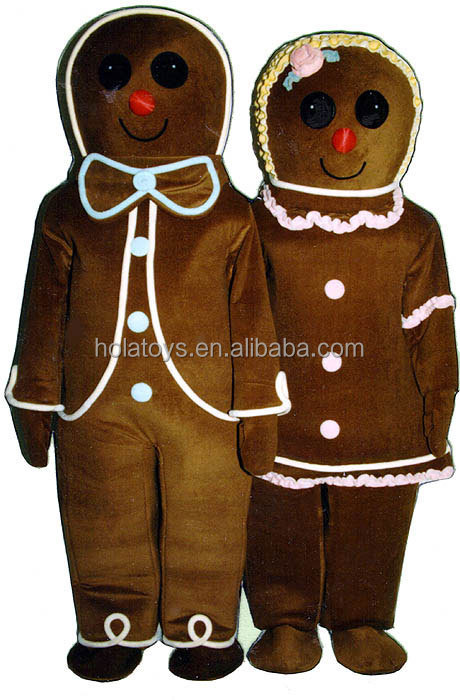 xmas20A.jpg  sc 1 st  Alibaba & Gingerbread Man Mascot Costume/chritsmas Costume For Sale - Buy ...