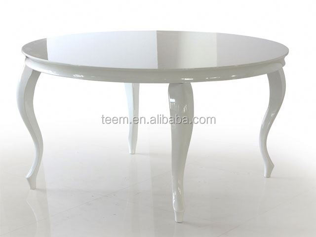Divany modern high end MDF marble top dining room furniture