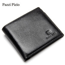 2017 Popular Hot Selling Fine Leather Black Men Wallet