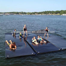 2016 Hot selling lake water floats pool rafts water trampoline with low price