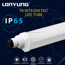 LED Parking Garage & Canopy Light train station waterproof integrated led linear tube with 5 Years Warranty