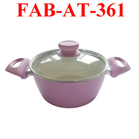 Hot Ceramic Pink pots and pans
