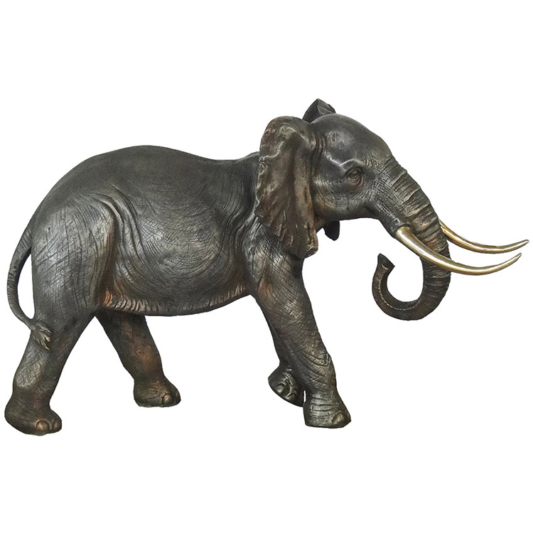 Cheap can customize size and color with bronze elephant ivory sculpture for sale