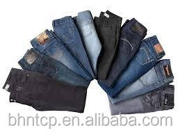 BHNJ8204 Branded surplus garment Cheap denim Jeans stock lot available for sale stock garment