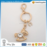 OEM and ODM good quality Animals Horse Metal 3D Key Chain