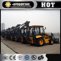 chinese main brand xcmg backhoe loader xt872 with 0.3m3 digger bucket capacity hot selling!!!