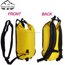 Multifunction Bright Color Inflatable Tow Float Backpack Swimming Buoy Bag
