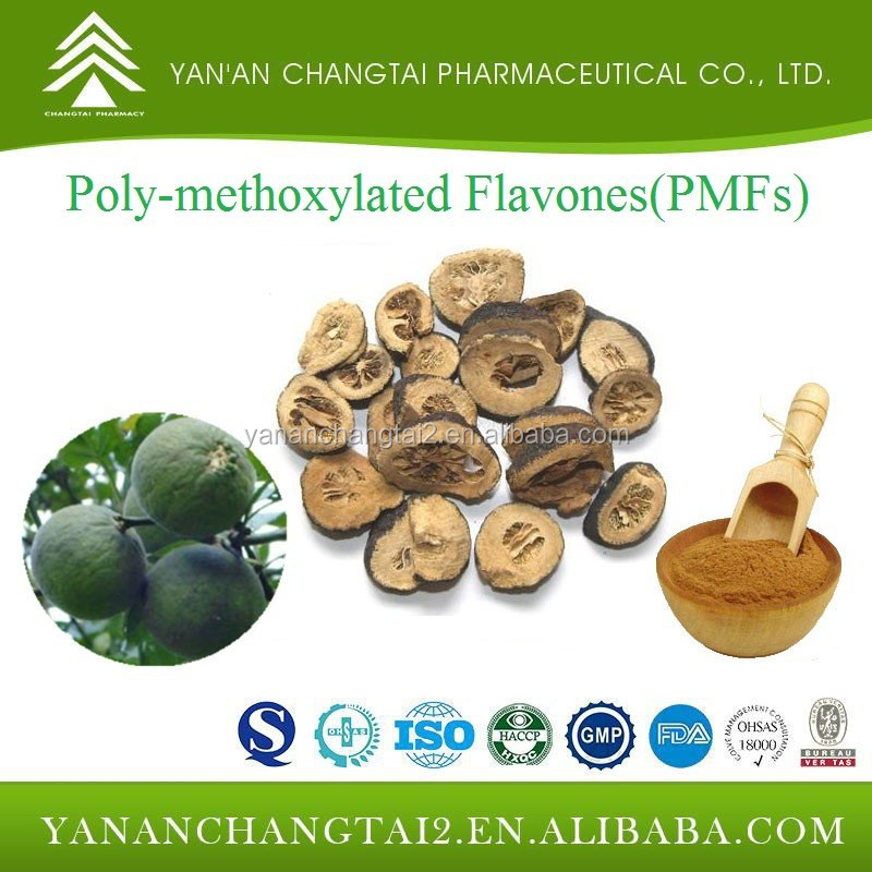 GMP factory supply natural Polymethoxylated Flavones(PMFs) 30% 40% 60% 90%