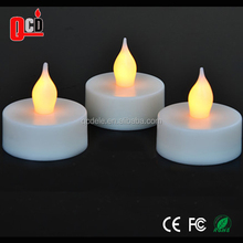 Warm white tea light led candle powered by 1*CR2032 Battery