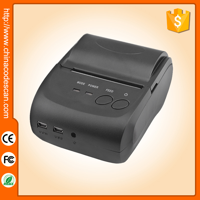 5802LD portable handheld 58mm small android os wireless bluetooth thermal receipt printer