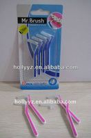 Hot sale the top professional design new types of interdental mr. brush