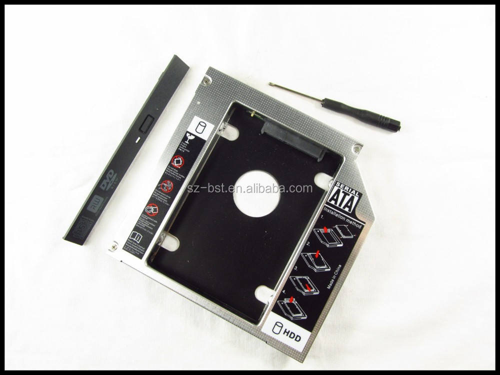 2nd 12.7mm Hard Drive HDD Caddy for HP EliteBook 8460w 8560w 8570w 8760w 8770w