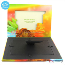 Promotional beautiful printing paper picture frame custom cardboard photo frame