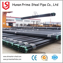 CASING PIPE/ ASTM A106 SCH40 BLACK STEEL SMLS PIPE FOR PRESSURE/ PRIME STEEL PIPE