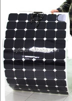 180w flexible solar panel with high efficiency Back contact cells