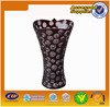 High quality best selling nice design brown glass vase