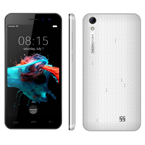 Cheap Unlock 3G Smart Phone HOMTOM HT16 8GB 5.0 inch Android 6.0 MTK6580 Quad Core 1.3 GHz ,RAM: 1GB