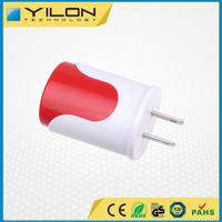 OEM Available Custom Color USB Port Wall Charger
