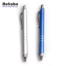 Reliabo China Supply Custom Design Metal Retractable Ball Point Pen