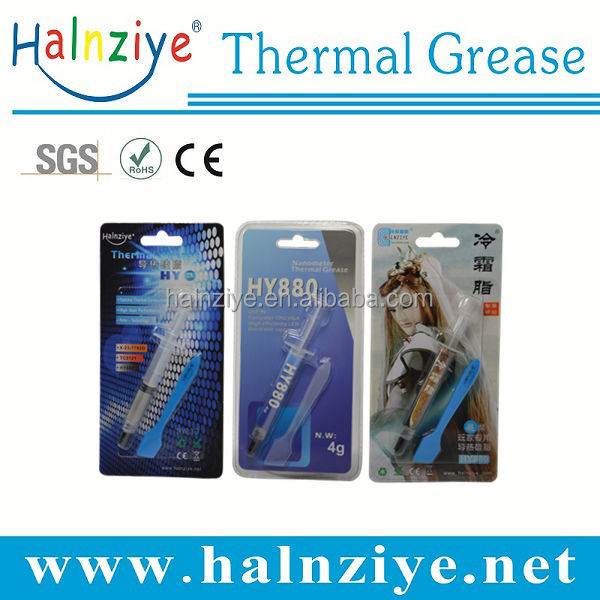 Halnziye Thermal conductive Grease thermal paste For CPU Heatsink