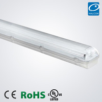 IP65 waterproof lighting fixture CE ROHS T5 T8 hanging fluorescent light fixtures