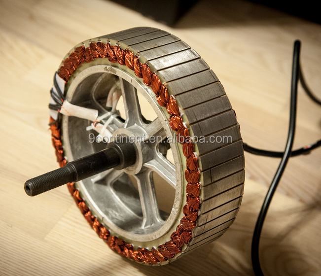 High power 50mm height stator and magnet electric bicycle motor 2500w
