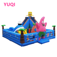 Factory price inflatable fun city amusement park playground equipment , inflatable bouncy castle for children