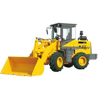 ZT9286 Factory Price 2ton 4WD Farm Tractor Loader 1m3 Large Bucket Loader USA Diesel Engine 100hp New Hydraulic Wheel Loader