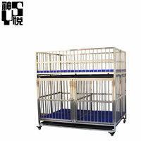 China Stainless steel best selling dog animal products Pet dog cages kennels