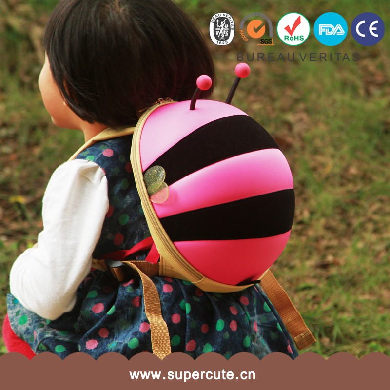 Wholesale Popular Cheap 600D Polyester Animal Backpack 9 Years Child School Bag