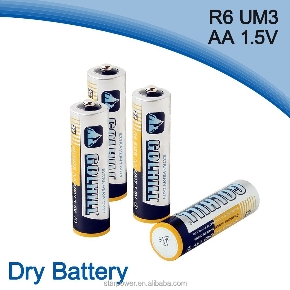 dry cell um3 R6 aa size battery 1.5v