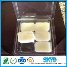PET/PP/PVC/PS wax melts clamshell packaging plastic tray