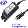 waterproof LED power supply with TUV GS,CE,UL/cUL FCC approval