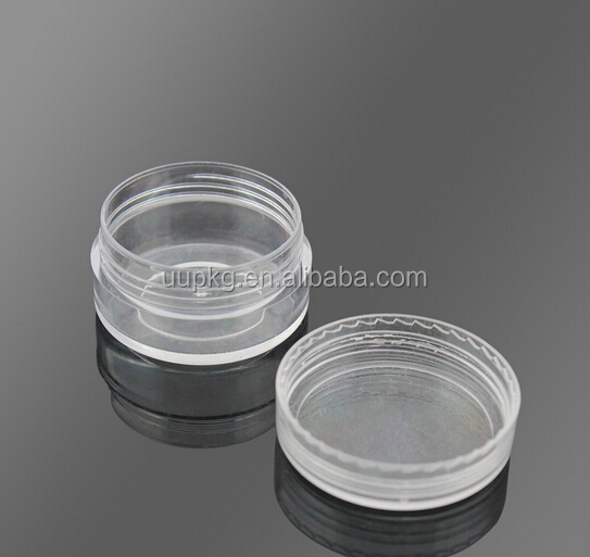 UU PACKAGING 30ml clear plastic jar with lids