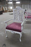 England Chippendale Antique Wood Chair XY0780