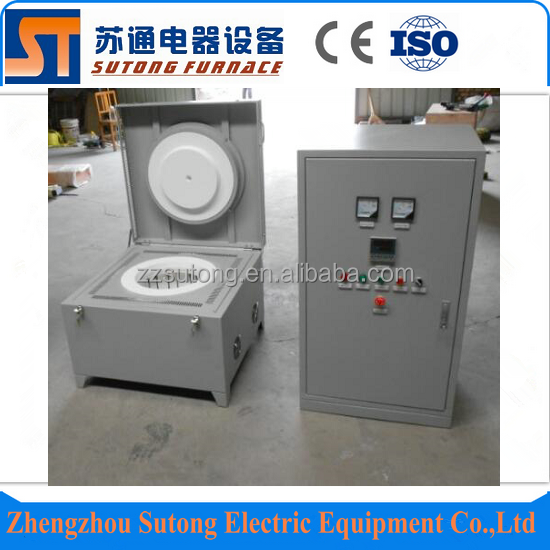 Hot selling efficiency 1700C electric glass melting furnace for sale