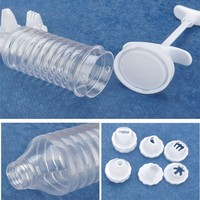 HP032 fashion 8 nozzles plastic package,transperant cake decorating supplies in manila